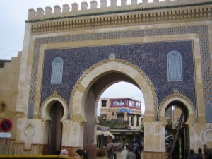 Bab Boujlod- the main entrance to the medina