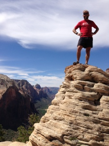 On top of Anels Landing (Zion Nat'l park)